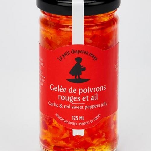 Gelée de poivrons rouge et ails